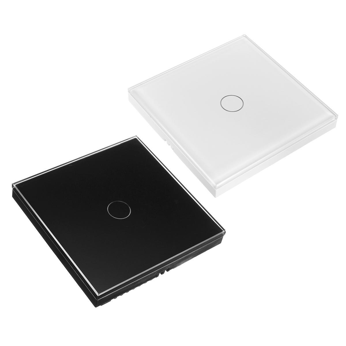 1 Gang 1 Interrupteur Mural Télécommande WIFI Smart Light Touch Pour Amazon Alexa
