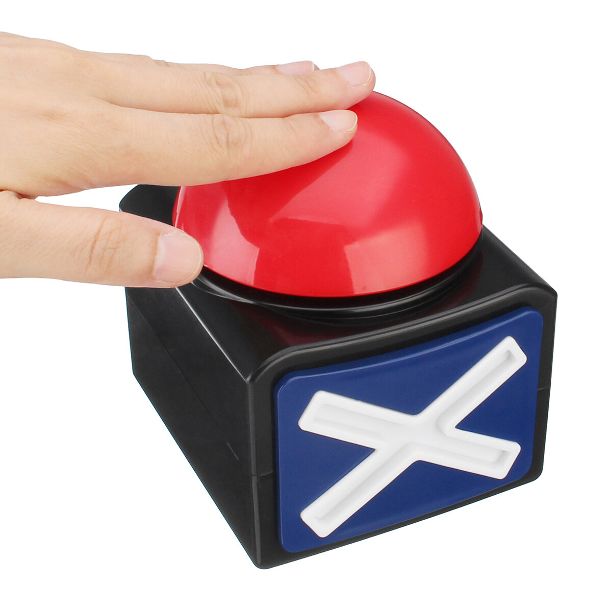 Buzzer Alarm Push Button Lottery Trivia Quiz Game Red Light With Sound And Light COD