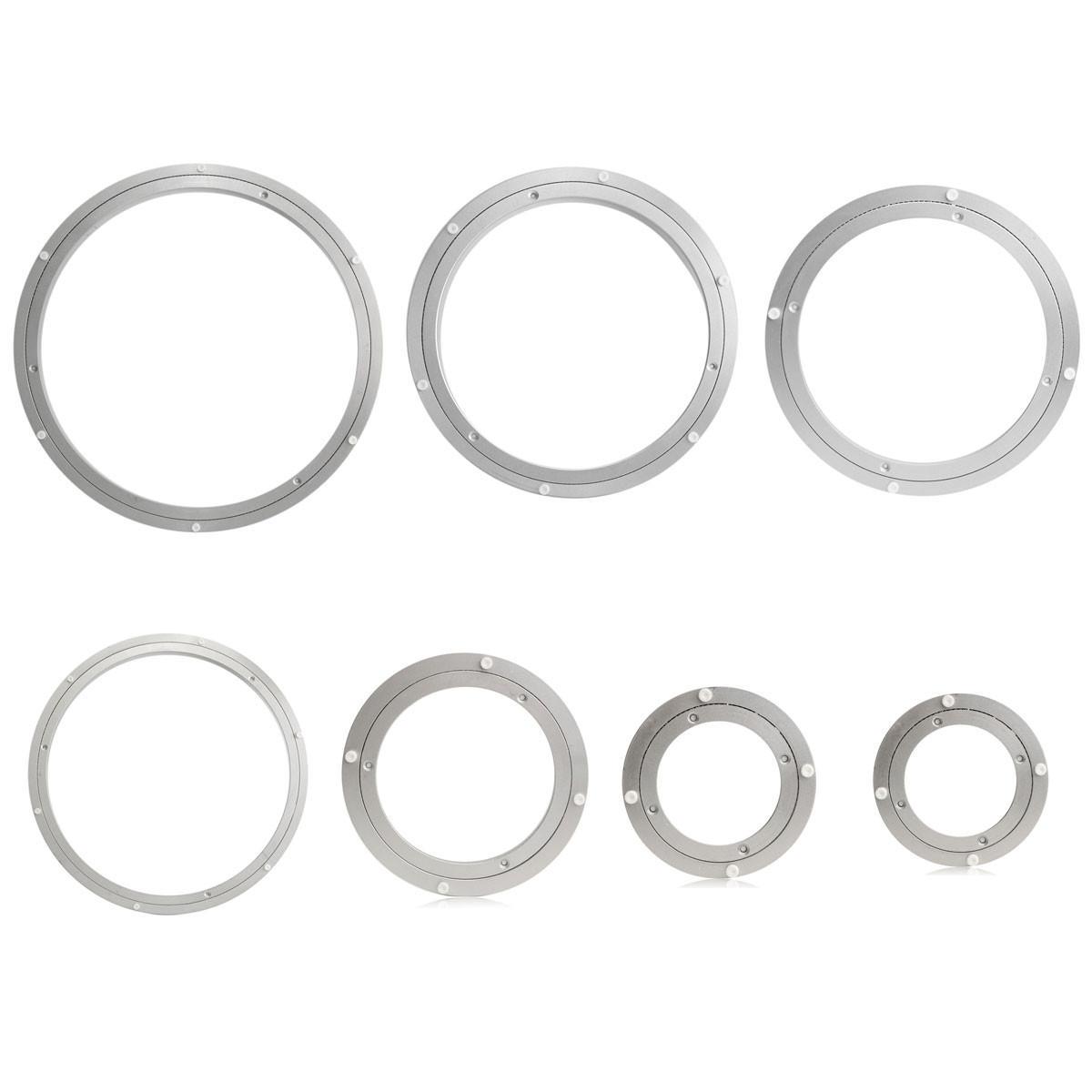 heavy duty aluminium rotating bearing turntable turn table round rh banggood com