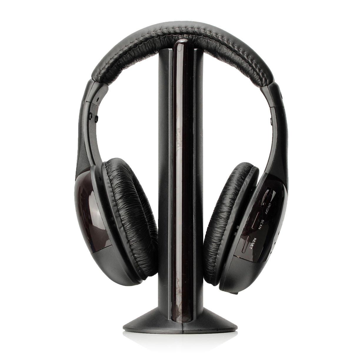 5 in1 Wireless Earphone Headset Headphone For Laptop PC