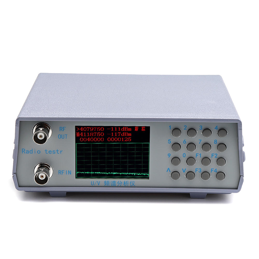 u/v uhf vhf dual band spectrum analyzer simple spectrum ...