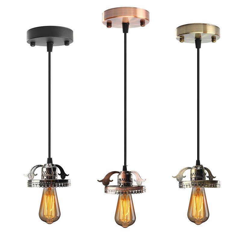 Old Warehouse Light Fixtures: Antique Industrial Vintage Ceiling Pendant Light Lamp Bulb