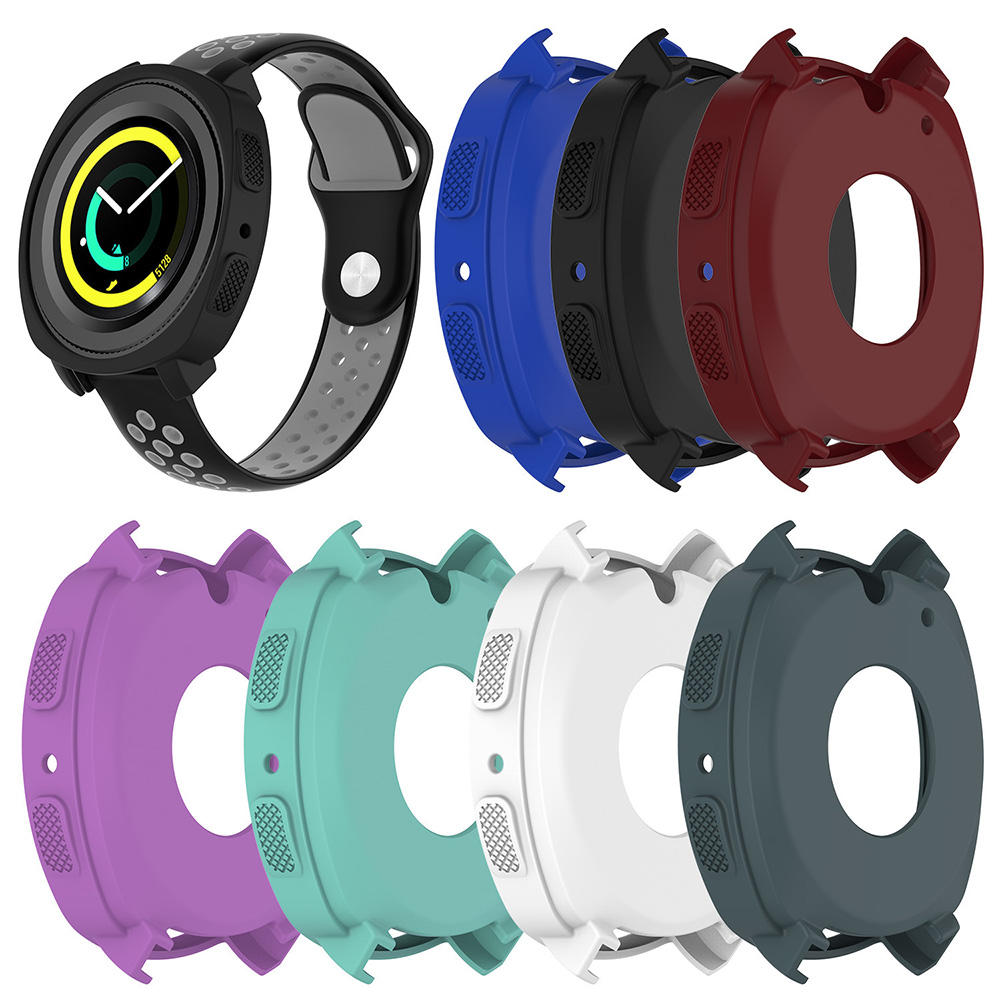 Couleurful Silicone Protective Watch Cover Case Outils pour Samsung Gear Sport R600