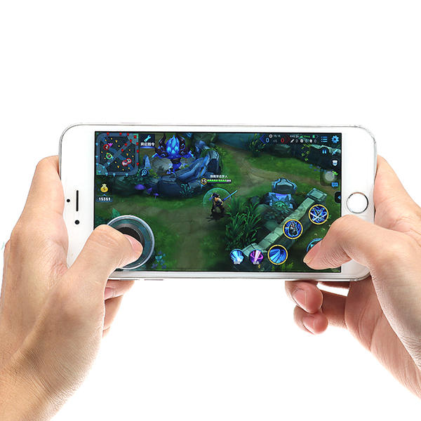 Mini Ultra Thin Touch Screen Mobile Phone Arcade Games Controller Joystick For Android iPhone Tablet