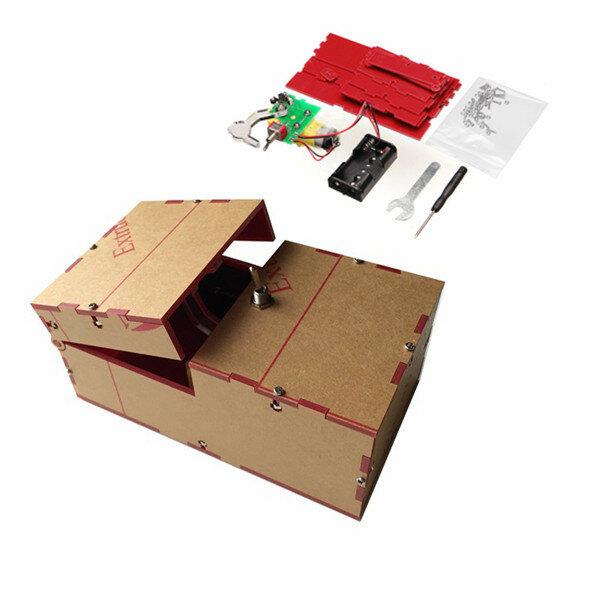 Kit DIY de Caja inútil Máquina inútil Regalo de Cumpleaños Juguete Geek Gadget Decoración Divertida de Escritorio del Hogar de la Oficina