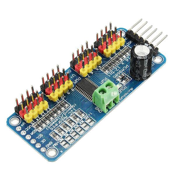 PCA9685 16-Kanal 12-bit PWM Servomotor Treiber I2C Modul für Arduino Roboter