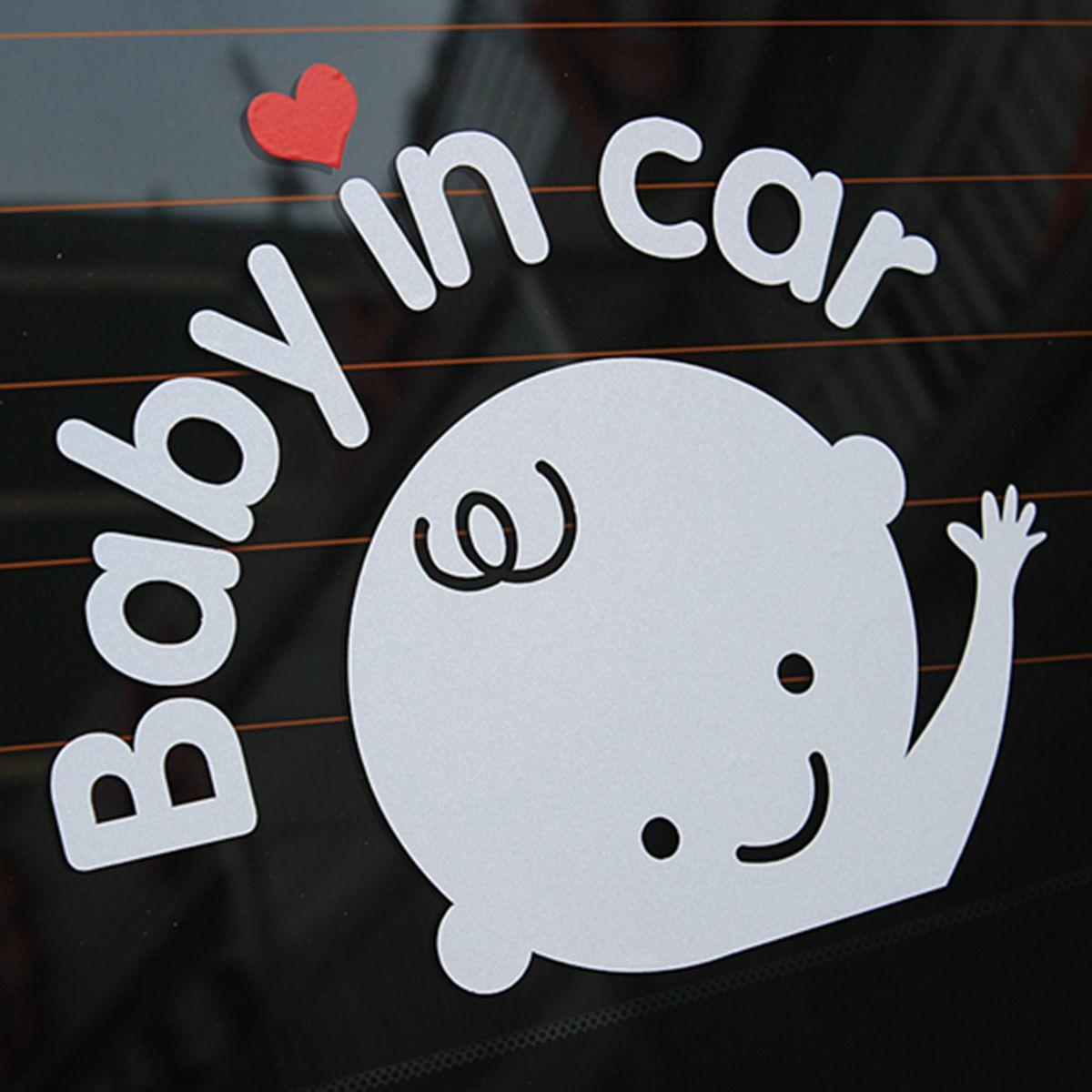 Car Window Signs & Decals Responsible Baby On Board Safety Decals Sticker Cars Window Graphics Decals