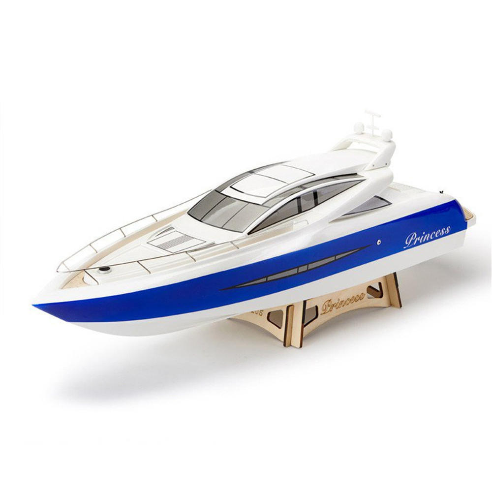 TFL 1105 Princess 960mm 2.4G Fibra de vidrio Casco Rc eléctrico barco W / O Servo Transmisor Batería Cargador