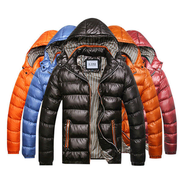 d497a1ccf mens winter thick warm waterproof windproof hood removable jackets ...