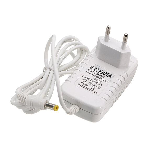 LEDストリップライト用AC1220-240V〜DC12V 2A 24W EUプラグ電源アダプタ変圧器