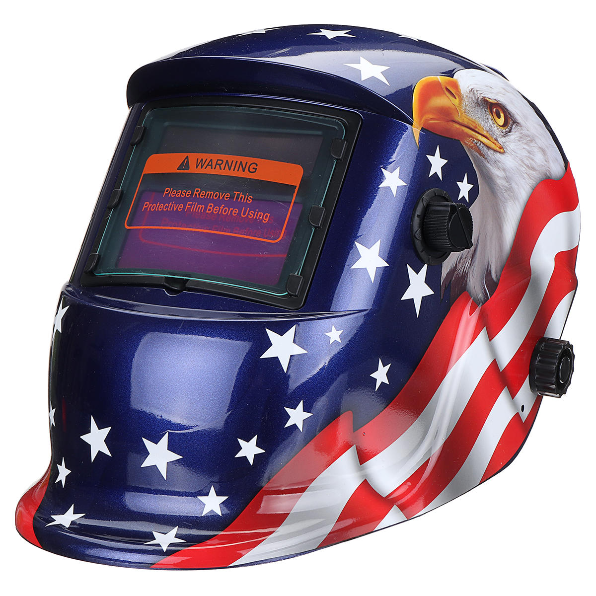 Welding Helmets Alert Black Skull Solar Energy Automatic Variable Light Welding Mask Tig Spot Welding Helmet With Adjustable Headband Knob Welding & Soldering Supplies