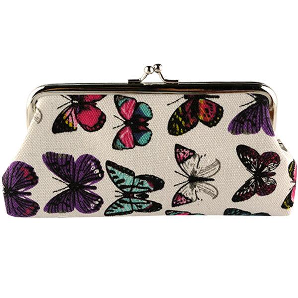 Ретро старинные путешествия косметический макияж хранения организатор бабочка сумка держатель сумка туалетных принадлежностей