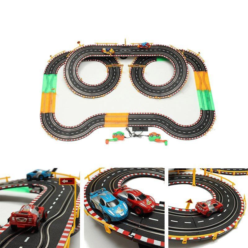 HZハンドダイナモロードスタートラックランプ付きおもちゃのダブル競争力のあるおもちゃ