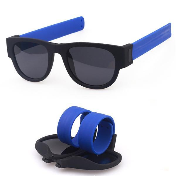 Fashion Summer Foldable Sunglasses Outdoor Polarizing UV400 Riding Glasses For Men Women