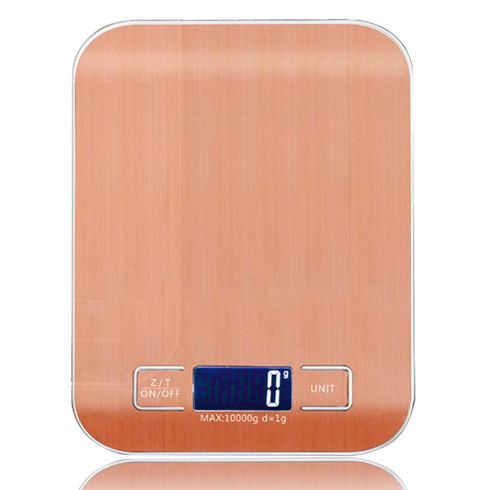 WeiHeng 10 kg 1g En Acier Inoxydable Numérique Échelle Électronique Poids Équilibre Cuisine Alimentaire Diète Cuisson Mesure Outil