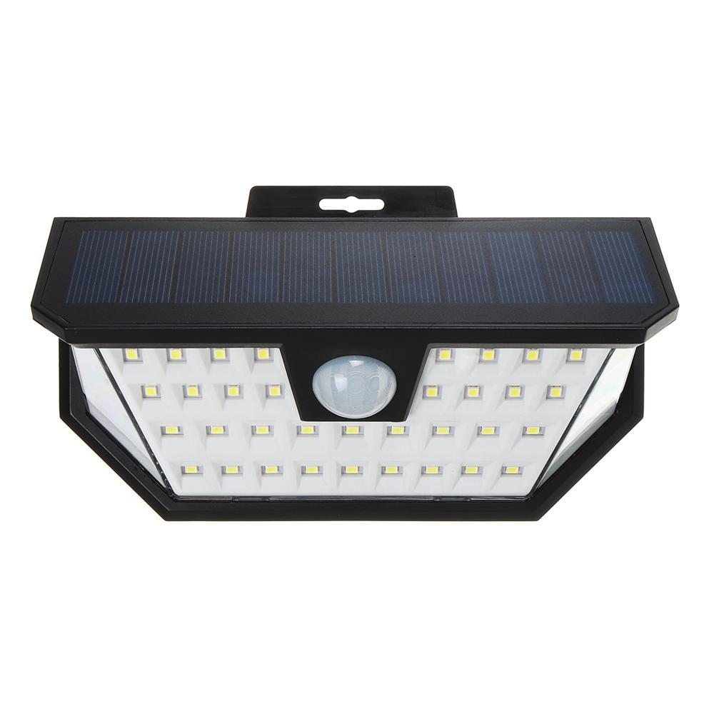 48 <b>LED Solar Powered</b> Wall Light Wide Angle Motion Sensor ...