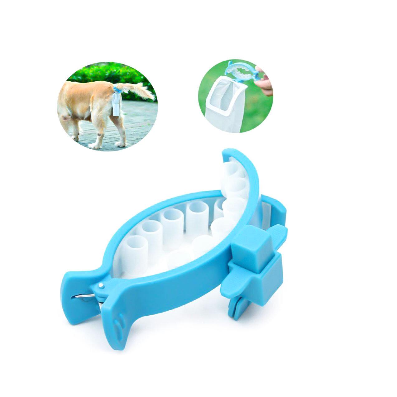 Evcil hayvan Köpek Outdoor Pooper Scoopers Clip Pet Outdoor Seyahat Su Geçirmez Tuvalet Köpek Taşınabilir Tuvalet