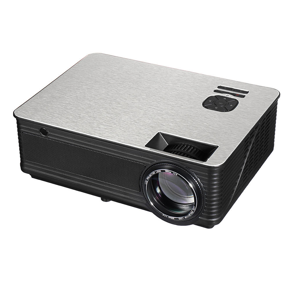 M5 LED Projecteur portable 5.8 pouces LCD Projecteur 4500 Lumen 1280 * 800 Support 1080P TV Home Theater