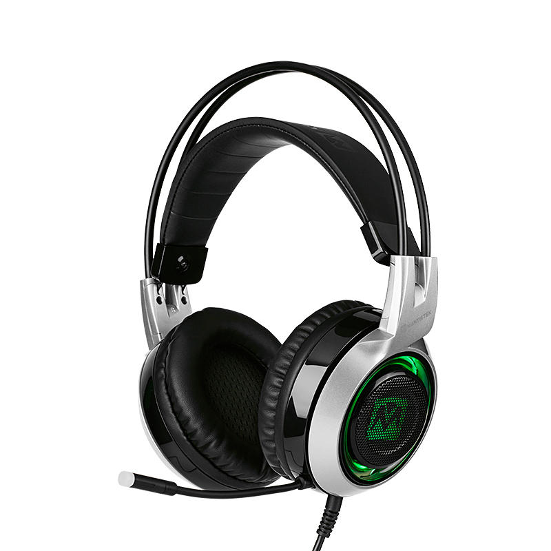 MantisTek® GH2 Smart Vibration Stereo Noise Canceling Gaming Headphone with Microphone