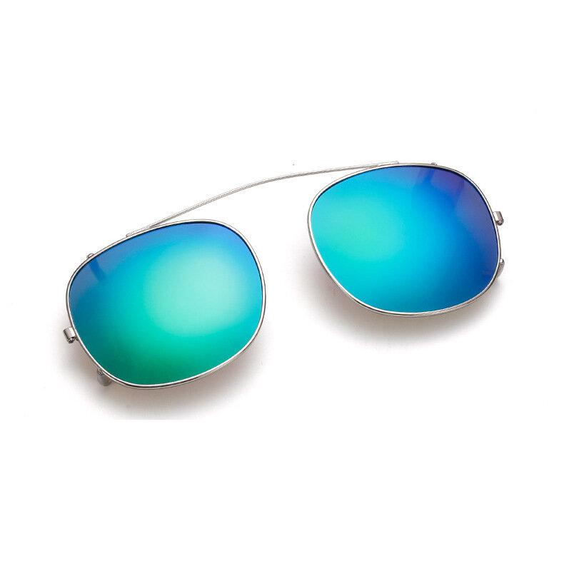 BIKIGHT Поляризованный клип на солнцезащитные очки Светоотражающее зеркало Семь цветов