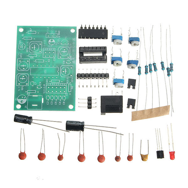 icl8038 function signal generator kit multi channel waveformicl8038 function signal generator kit multi channel waveform generated electronic training diy spare part cod