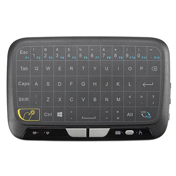 H18 Sans Fil 2.4GHz  Mini Clavier Tactile Air Souris pour TV Box MINI PC