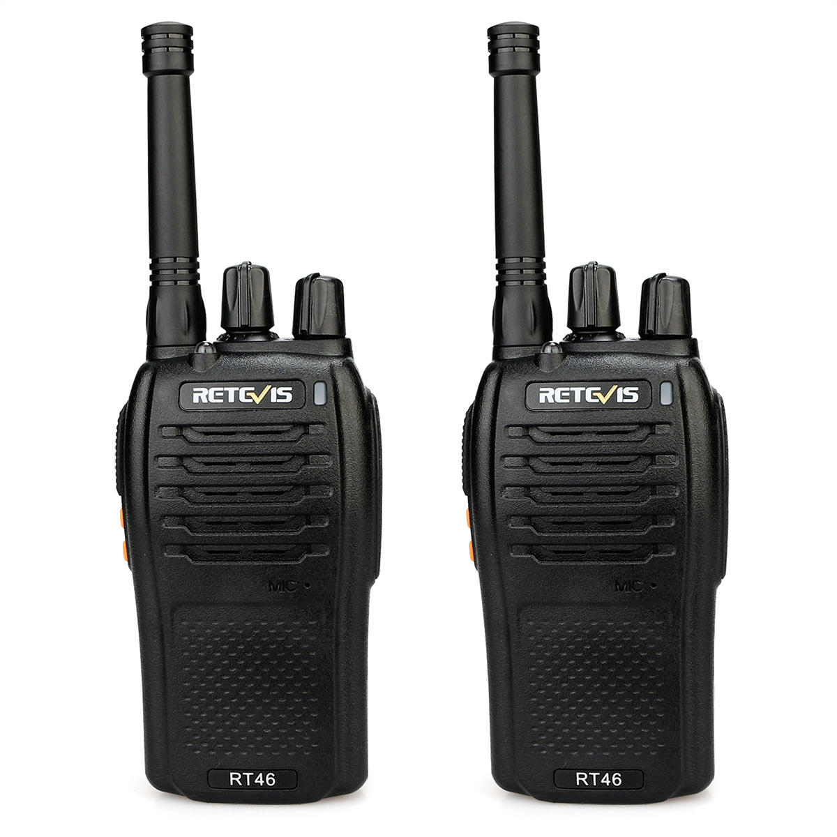 Retevis RT46 License-free Walkie Talkie FRS Monitor Scan SOS Alarm Two Way Radio Station With USB Charging Cable