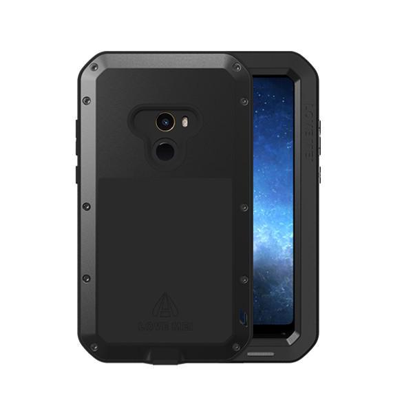 LOVE MEI Водонепроницаемы Ударопрочный 3 Защитный алюминиевый защитный корпус Чехол Для Xiaomi Mi MIX 2