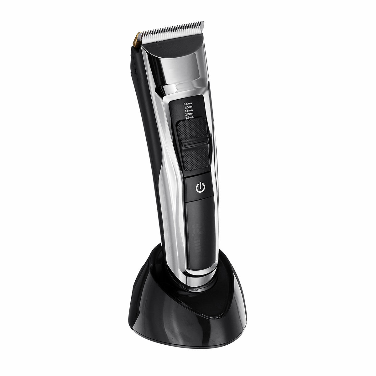 LCD Digital Men Rechargeable Cordless Electric Hair Clipper Cutter Haircut Trimmer +Comb
