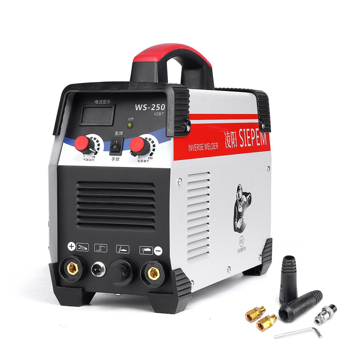 WS-250 250A 220V ARC/TIG 2 In 1 Welding Machine Portable IGBT Inverter Weilding Tools