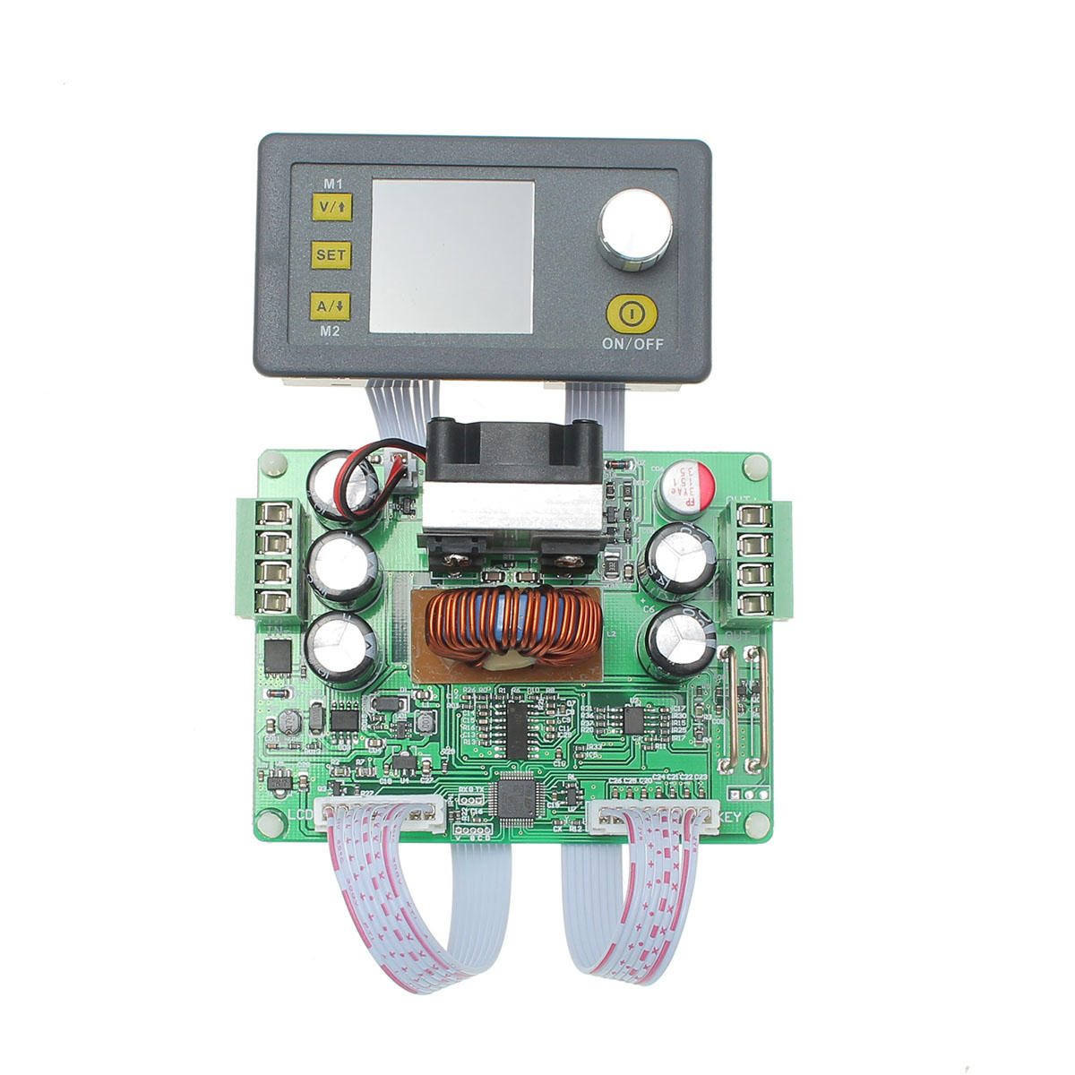 Ruideng Dps3012 32v 12a Buck Adjustable Dc Constant Voltage Power Connect A Simple Circuit With Voltmeter And Ammeter As Shown Supply Module Integrated