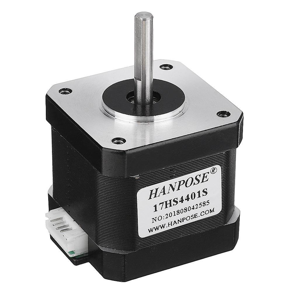 HANPOSE 17HS4401S 40mm Nema 17 Stepper Motor 42 Motor 42BYGH 17A 40Ncm 4lead Motor for 3D printer CNC Laser