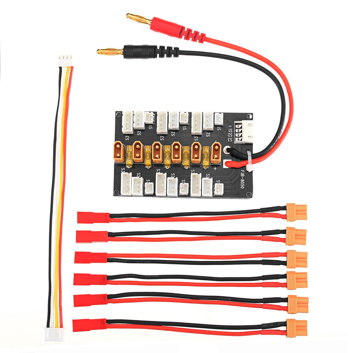 Lipo Li Ion 1s 3s Xt30 B6 Battery Parallel Charging Board Balance Wiring Batteries In Charger Line