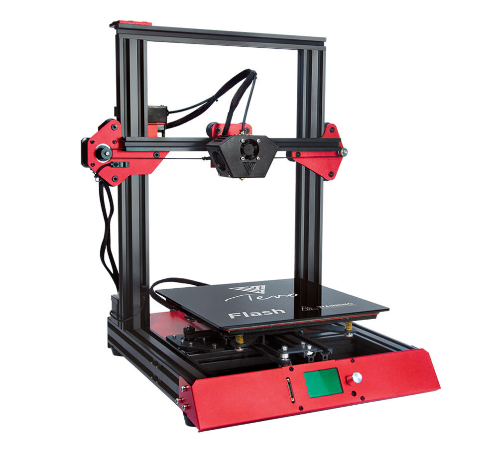 TEVO® Flash 98% Prebuilt 3D Printer Kit 235*235*250 Large Printing Size Support Dual Z Axis/BL-Touch Version with Titan Extruder/Volcano Nozzle