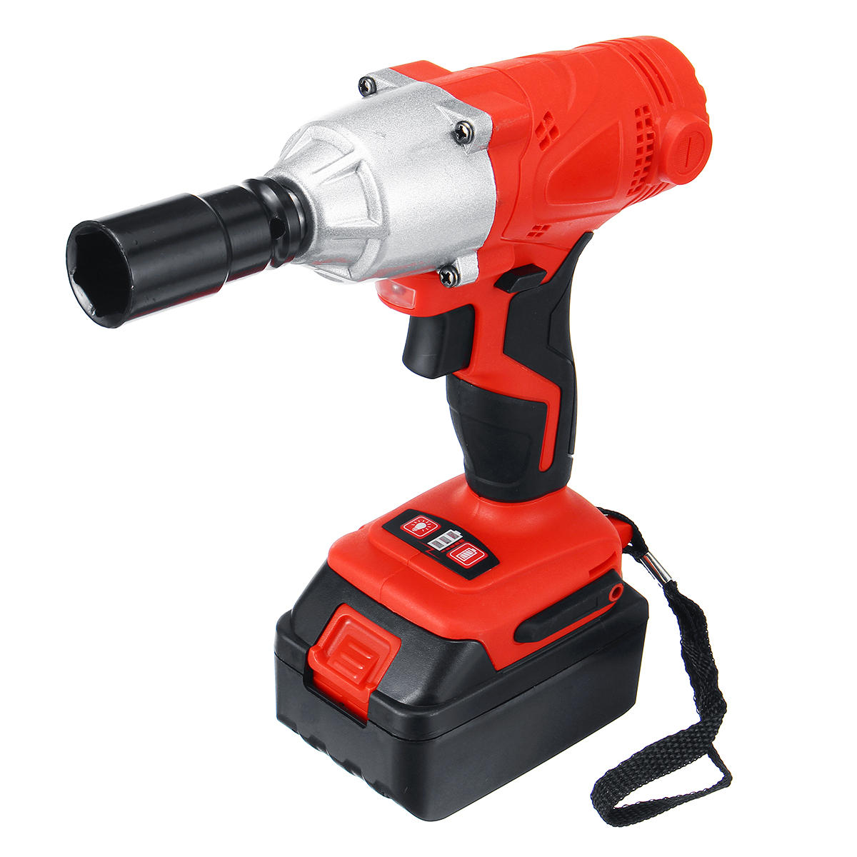 128vf 188vf Electric Wrench 350nm High Torque Impact Cordless 1 2 Batteries Charger Cod
