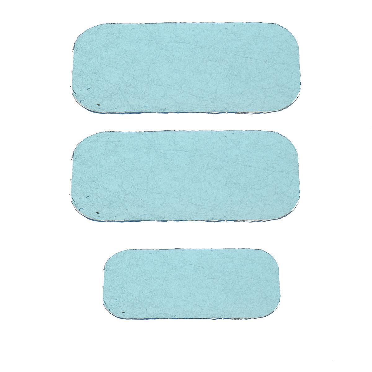 KALOAD Hydrogel à usage général Pad Fitness EMS Entraîneur de hanche abdominale Stimulateur de muscle Gel Stickers Remplacement de patch