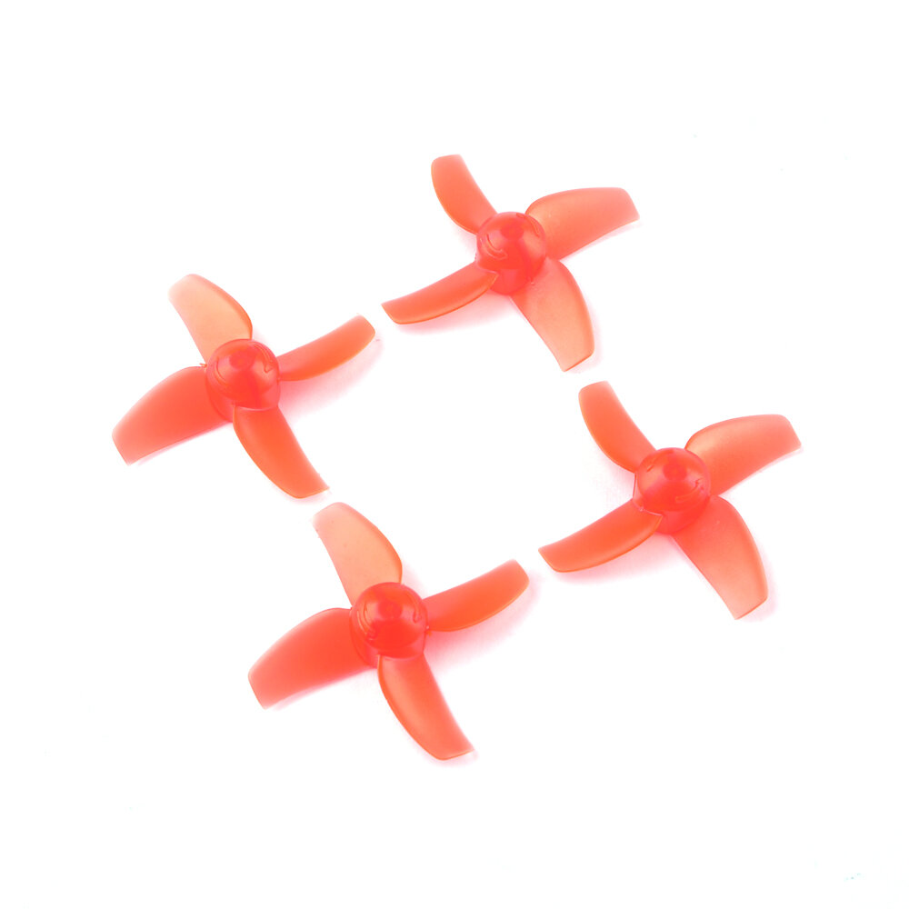 2 Pairs Eachine TRASHCAN 75mm FPV Racing Drone Spare Part 40mm 4-blade CW CCW Propeller