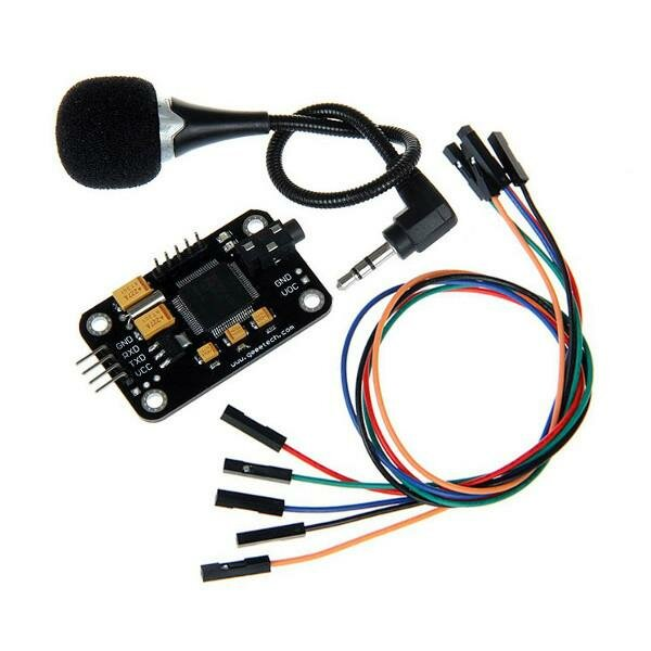 Geeetech® Voice Recognition Module With Microphone Control Voice Board For Arduino