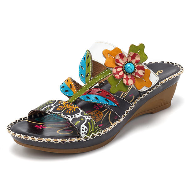 f5882df2c06fda socofy handmade leather sandals at Banggood sold out