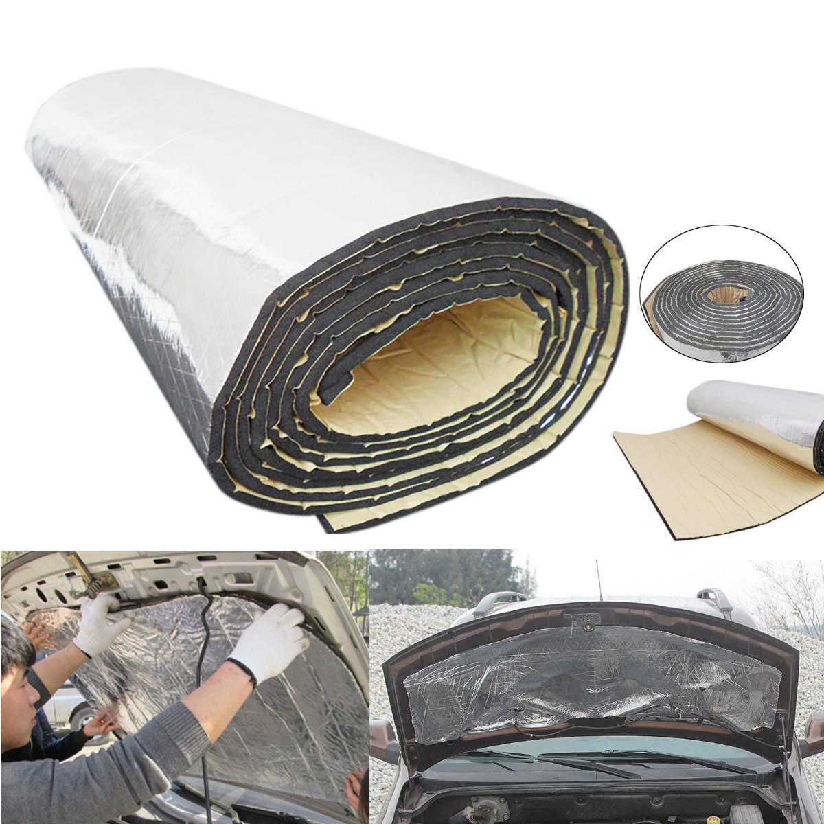 4M x 1M Insulation Proof Mat Audio Noise Control Sound Deadener Car Heat Shield