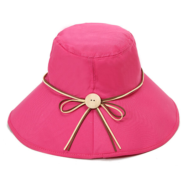 228c8943 1 / 12. Women Summer Wide Birm Sun Hat Casual Outdoor Beach Foldable  Sunshade ...