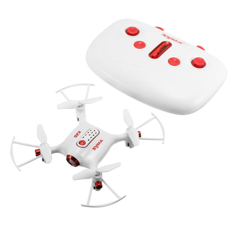 Syma X20 2.4G 4CH 6Aixs Headless Mode Altitude Hold Mode RC Quadcopter RTF