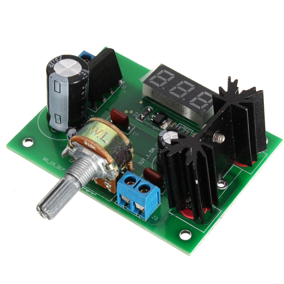 Lm317 Adjustable Voltage Regulator Step Down Power Supply Module Led Usb Battery Replacement By 600x600