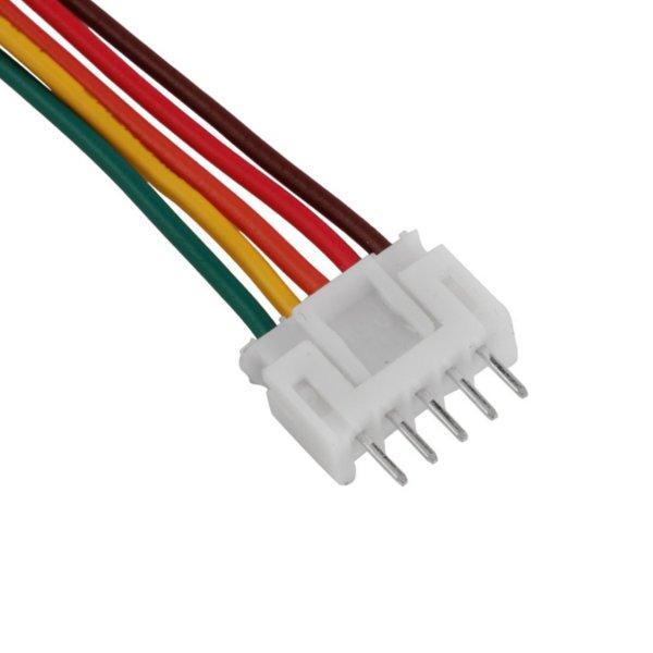 10Pares 22AWG 100mm 2S 3S 4S 5S 6S Batería de Lipo Conector Macho Hembra  Cable de Equilibrio de Enchufe
