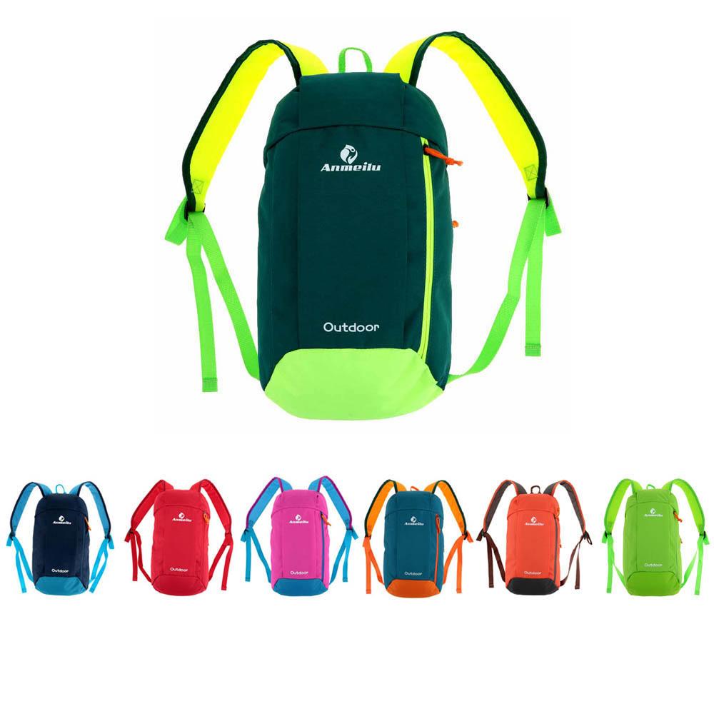 5dab450b9b 10L Outdoor Shoulder Backpack Rucksack Unisex Soft Bag Sports Camping Hiking  COD