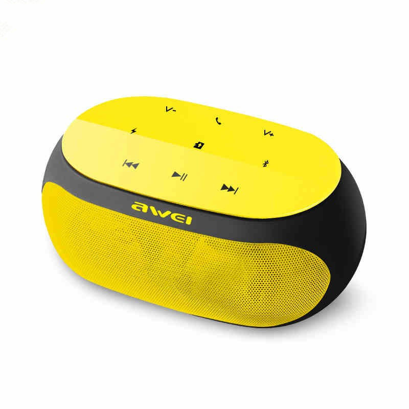[US$33 65] Awei Y200 Outdoor Night Light Touch Control TF Card Wireless  bluetooth Speaker with Mic for Phone Earphones & Speakers from Mobile  Phones &