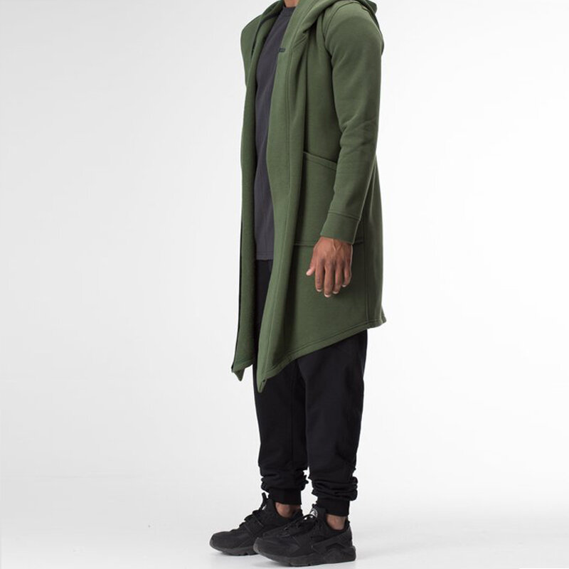 charmkpr mens mid-long irregular big pocket draped cardigan at ... 14664c696