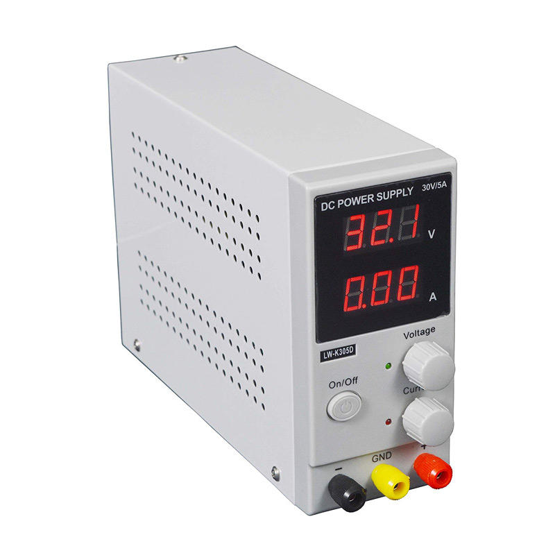 New 30V 5A DC Power Supply 110V Precision Variable Adjustable Digital Switching