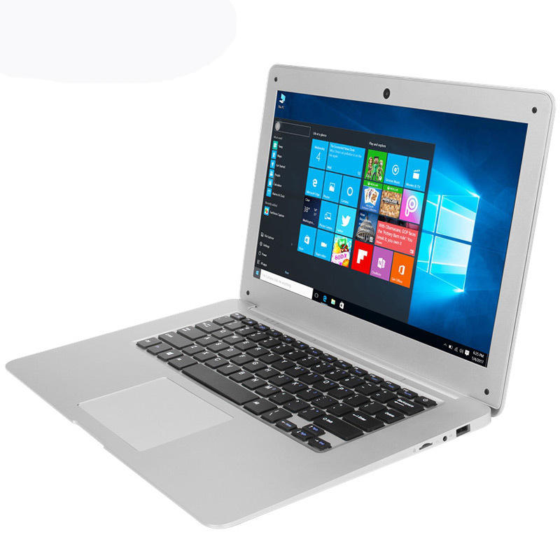 Saltatore EZBook 2 Ultrabook 14.1 pollici Intel Cherry Trail Z8350 di Windows 10 4GB / 64GB Quad Nucleo Laptop