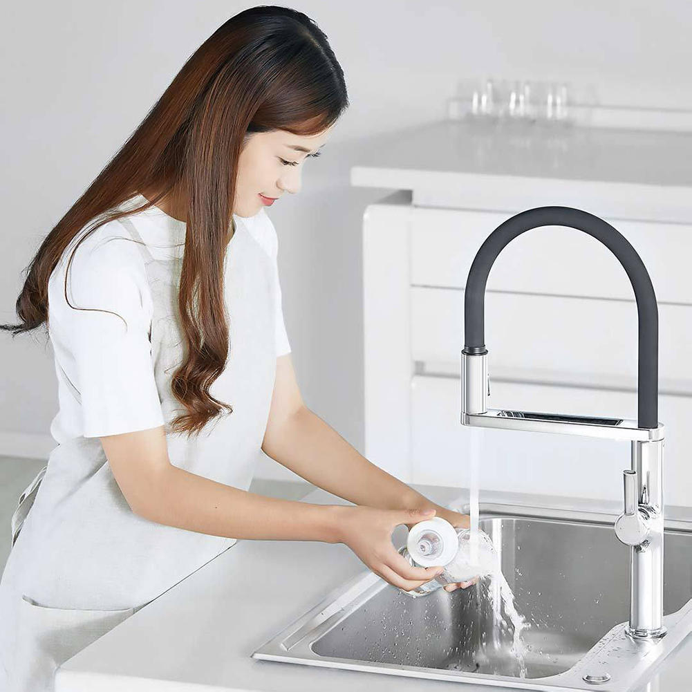 Xiaomi Dabai Kitchen Sink Sensor Pre Rinse Faucet W Rinser Sprayer Induction Rotatable Touchless One Handle Hot Cold Mixer Tap 1 Cod
